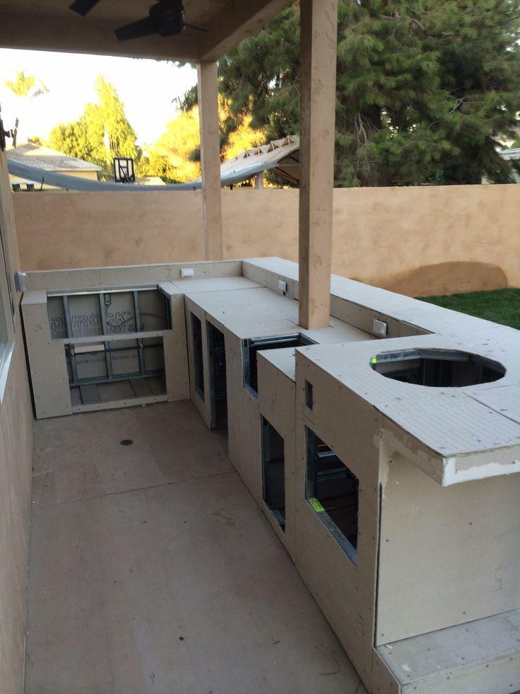 Best 45 Reference Of Deck Small Cement Backer Board Deck Outdoor Kitchen Plans Outdoor Kitchen Design Outdoor Kitchen