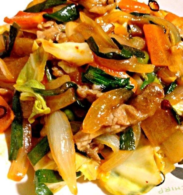 晩御飯のおかずは肉少なめで野菜増量して豚キムチ! - 8件のもぐもぐ - 豚キムチ by カウンター嬢