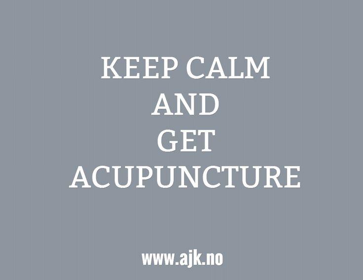 Get acupuncture
