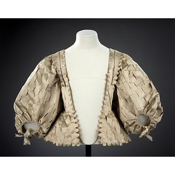 Bodice  Place of origin:England, Great Britain (made)Date:1630-1639 (made)
