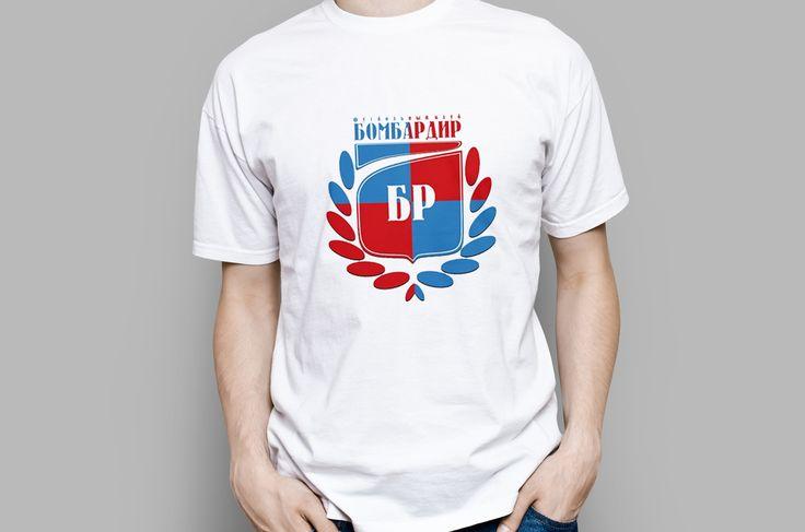 "Логотип юношеской футбольной школы ""Бомбардир"""