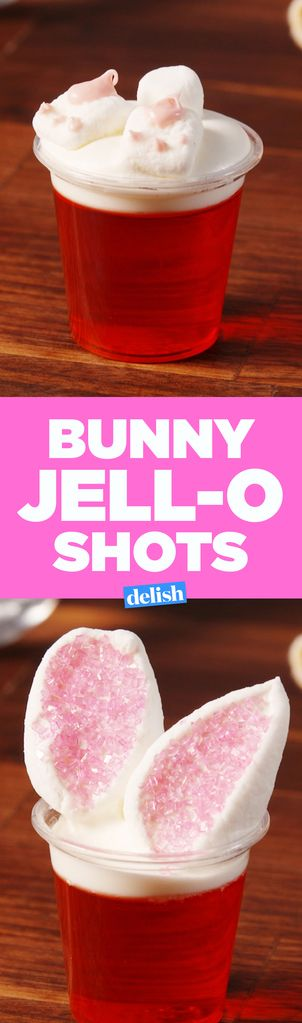 These Bunny Jell-O Shots Will Leave You Feeling All Hopped Up