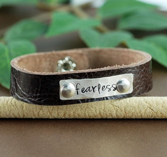 28 best personalized leather bracelets images on pinterest