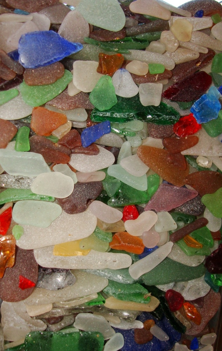Beach Glass from the Chesapeake Bay. I remember collecting this as a kid