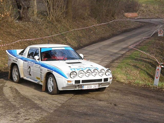 1978 MAZDA RX-7 SA22C GROUP B RALLY CAR
