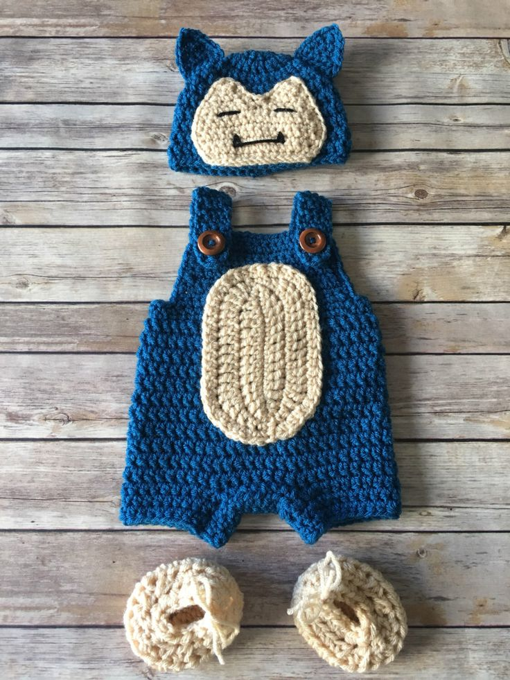 A personal favorite from my Etsy shop https://www.etsy.com/listing/485063129/newborn-snorlax-costume