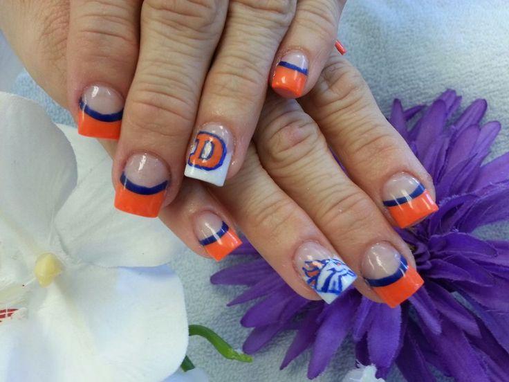 8 Best Denver Broncos Images On Pinterest Denver Broncos Nails
