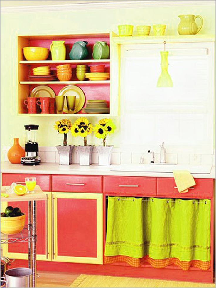 Colorful Kitchen Decorating Ideas | Kitchen Design Ideas Which Are Bright  And Colorful : Colorful Kitchen