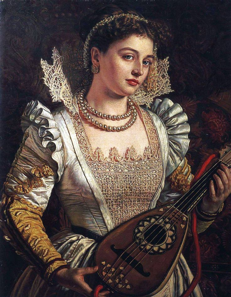 William Holman Hunt - Bianca - Worthing Museum and Art Gallery, United Kingdom.