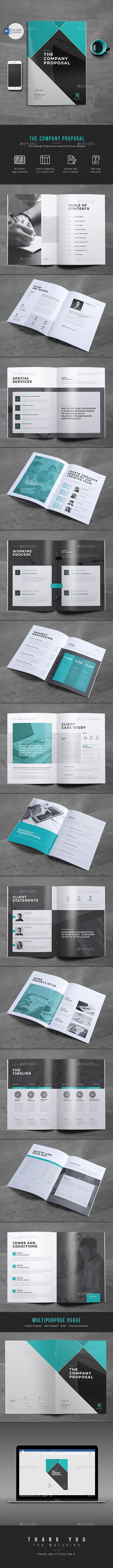 Proposal by themedevisers Proposal Word Template Want to send a business proposal or project proposal to prospective client? This 28 page Professional Bus