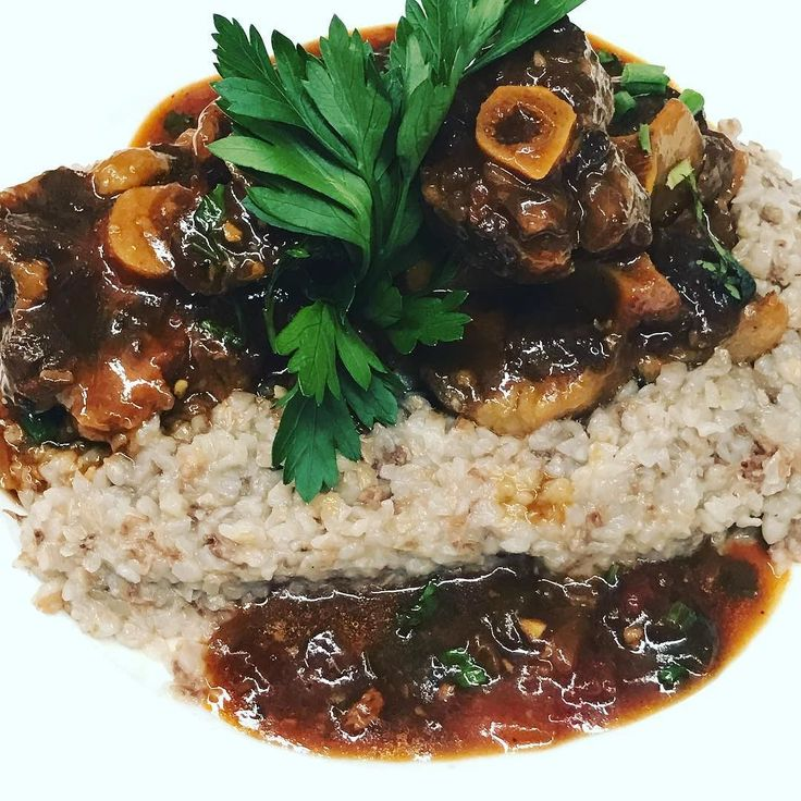 Beef Oxtail with Buckwheat special tonight #oxtails #oxtail #beefoxtail #parkslope #parkslopebrooklyn #foodlover #foodie