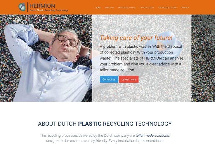 Website Hermion Plastic Recycling
