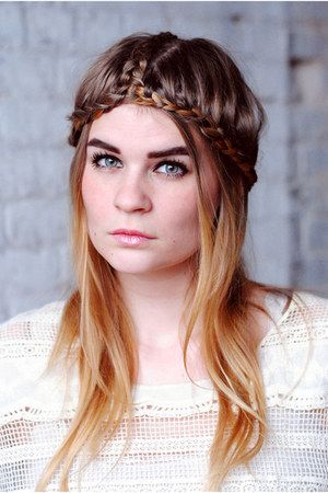 Festival Hairstyles Prepossessing 30 Best Festival Hairstyles Inspiration Images On Pinterest  Make