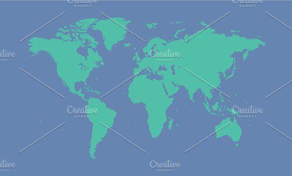 Mejores 102 imgenes de world maps en pinterest mapas del mundo world map isolated g file gumiabroncs Images
