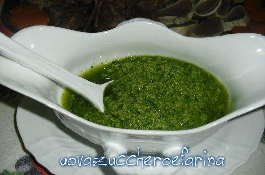 Salsa verde per lesso, ricetta di base