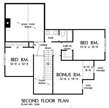 The Wexler House Plan W Goo 1248 Total Living 1 997 Sq
