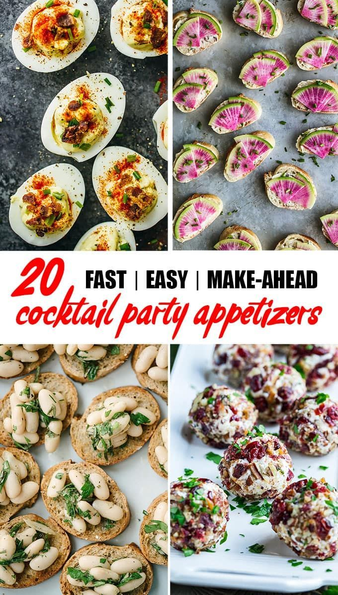 easy cocktail party appetizers