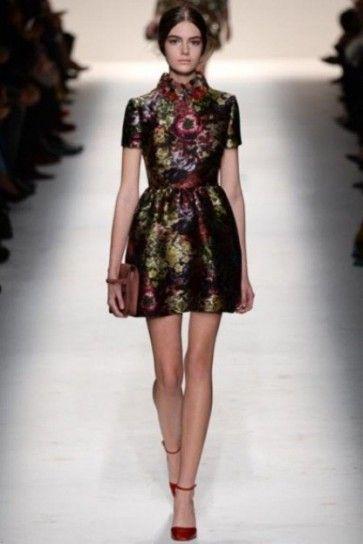 Minidress tapestry Valentino