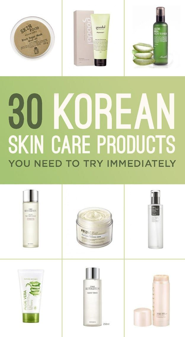 30 Korean Skincare Products You Need To Try Immediately Skin