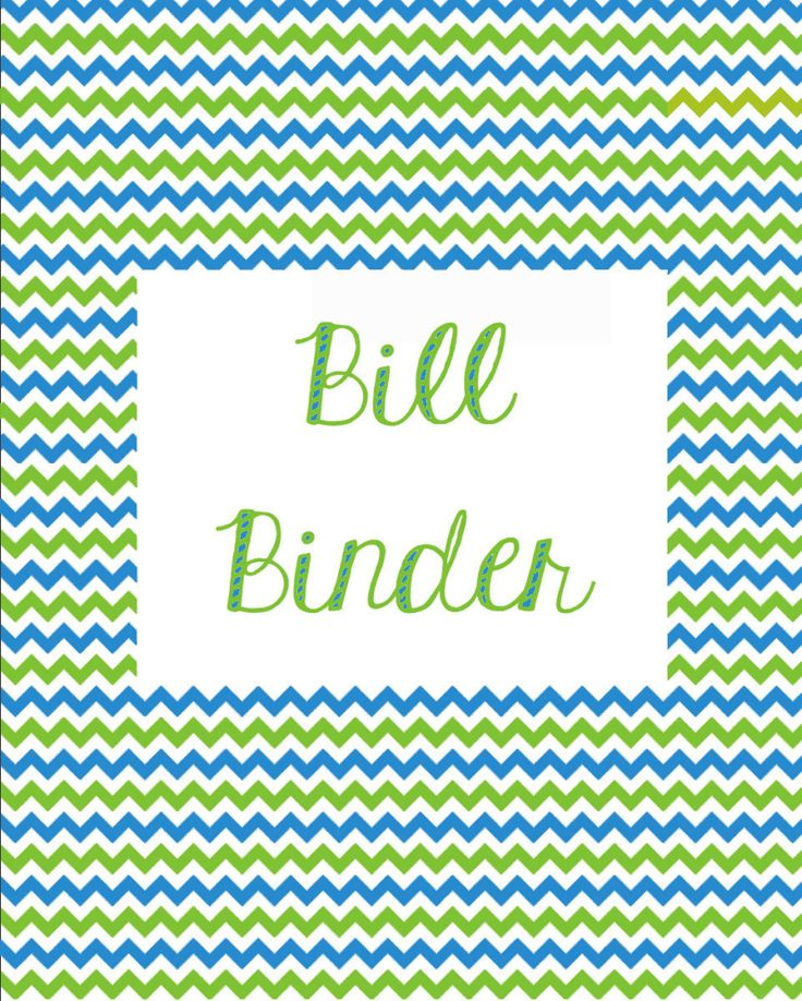 Miranda Bee: Budgeting & Bill Binder