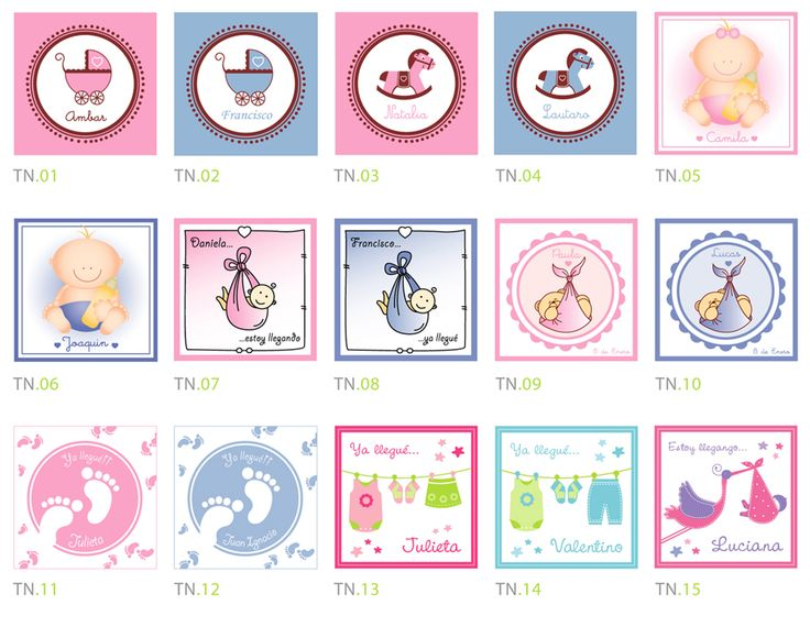 Tarjetas de souvenir de nacimiento para imprimir gratis - Imagui