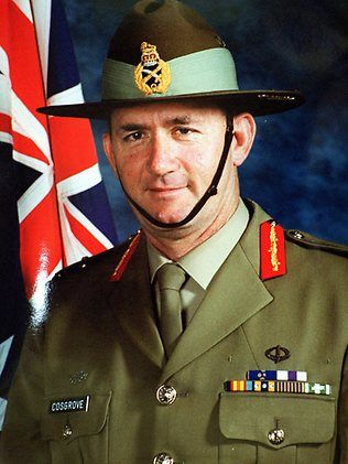 Sir Peter Cosgrove the now Governor General of Australia