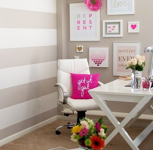 Chic Office Decor best 25+ feminine office decor ideas on pinterest | feminine
