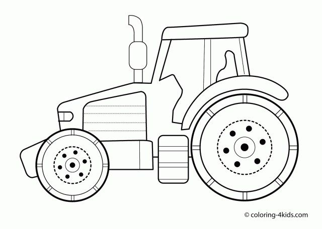 21 Excellent Picture Of Tractor Coloring Pages Entitlementtrap Com Tractor Coloring Pages Coloring Pages For Kids Coloring Pages Inspirational