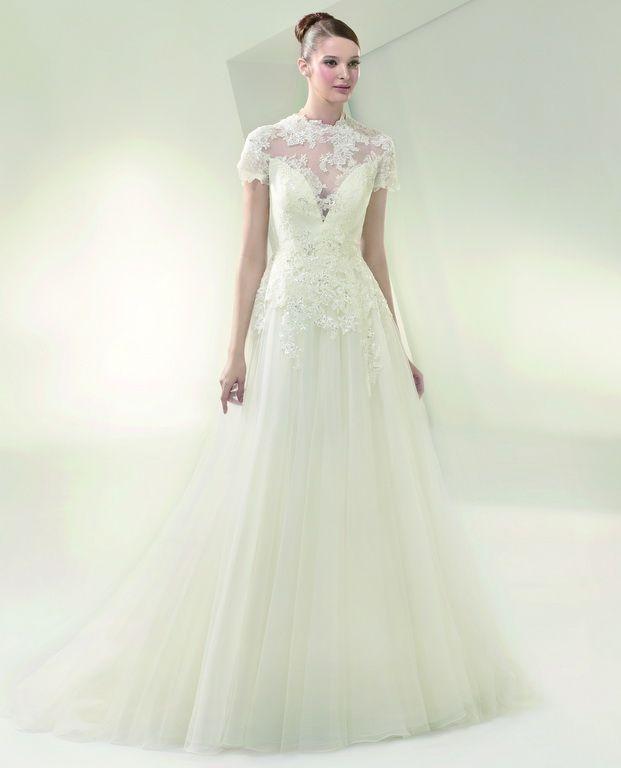 Beautiful by Enzoani wedding dress collection - BT14-1