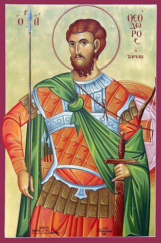 Theodore of Amasea |  by MichaelHDJ  Byzantine Icons.