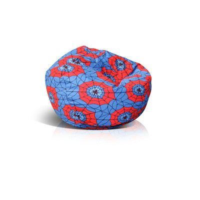 Zipped Bean Bag Chair Upholstery: Spider Web - http://delanico.com/bean-bag-chairs/zipped-bean-bag-chair-upholstery-spider-web-725830075/