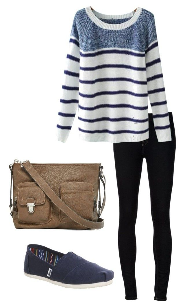 April Ludgate inspired by jeanettefailano on Polyvore featuring Chicnova Fashion, Ström, TOMS, Rosetti, april, parksandrec, aprilludgate and mrsdwyer