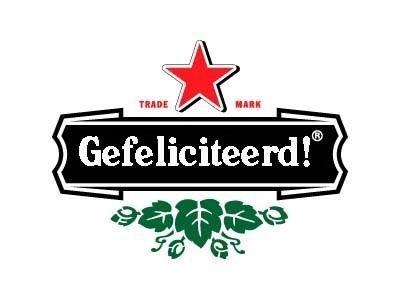 Gefeliciteerd! (Heineken logo)