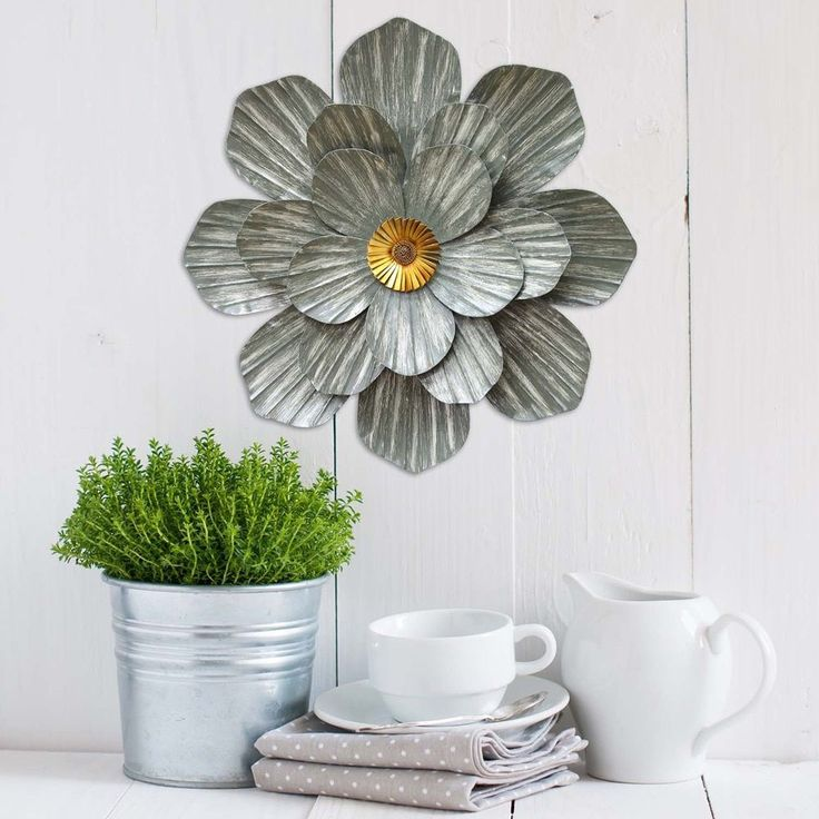 Metal Flower Wall Decor Hobby Lobby : Top ideas about metal flower wall art on