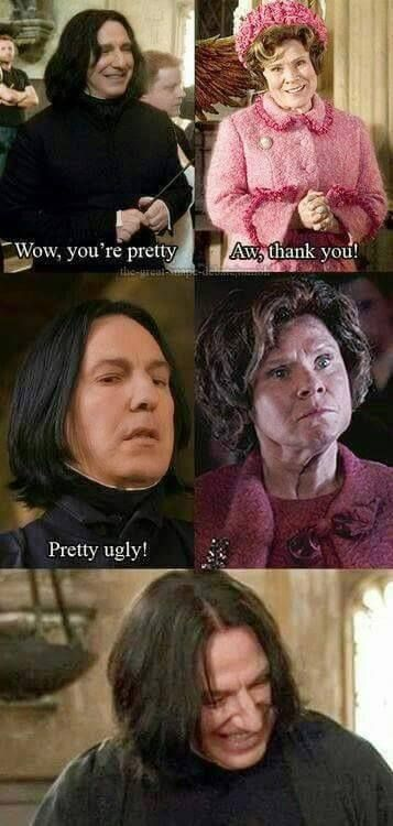 Pretty ugly! This one is one of my favorite pictures of Harry Potter.