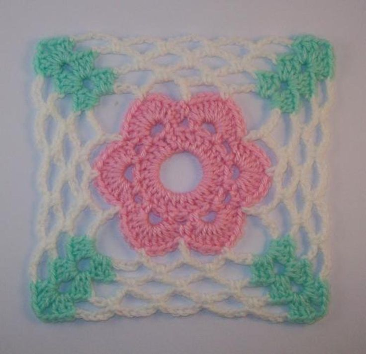 Flower Motif Block Crochet Pattern    Craftsy