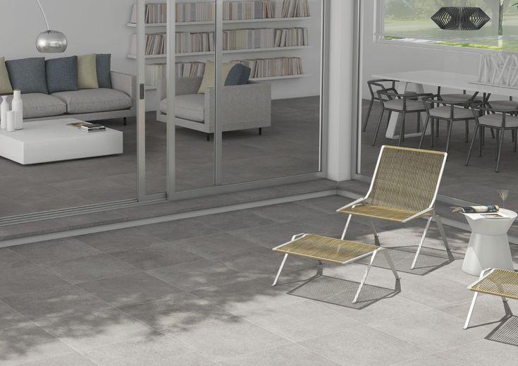 ARCANA Tiles Tortona Plomo Antislip 60x60 cm. | #resistent #outdoor #porcelaintile #design