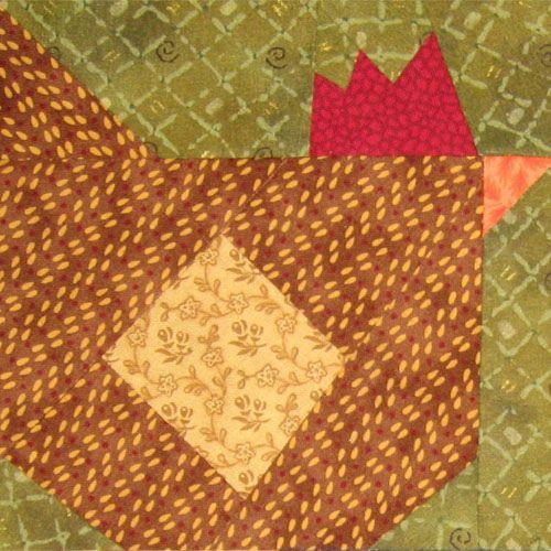 125 best Chicken quilts images on Pinterest | Appliques, Easter ... : chicken quilt block - Adamdwight.com