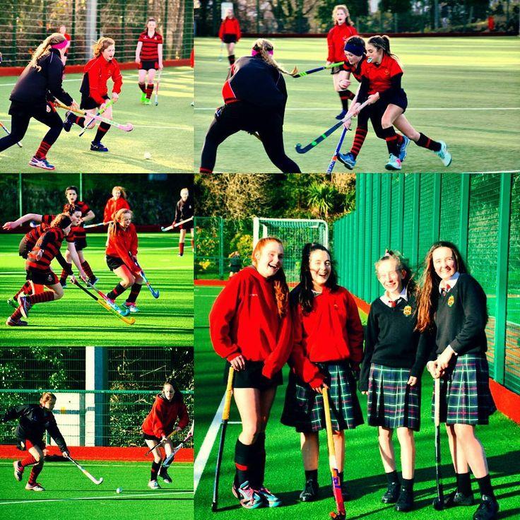 Hockey pals - Minor B's HSD Girls' Hockey team who played against Kilkenny College yesterday. #HSD #hsdgirlshockey
