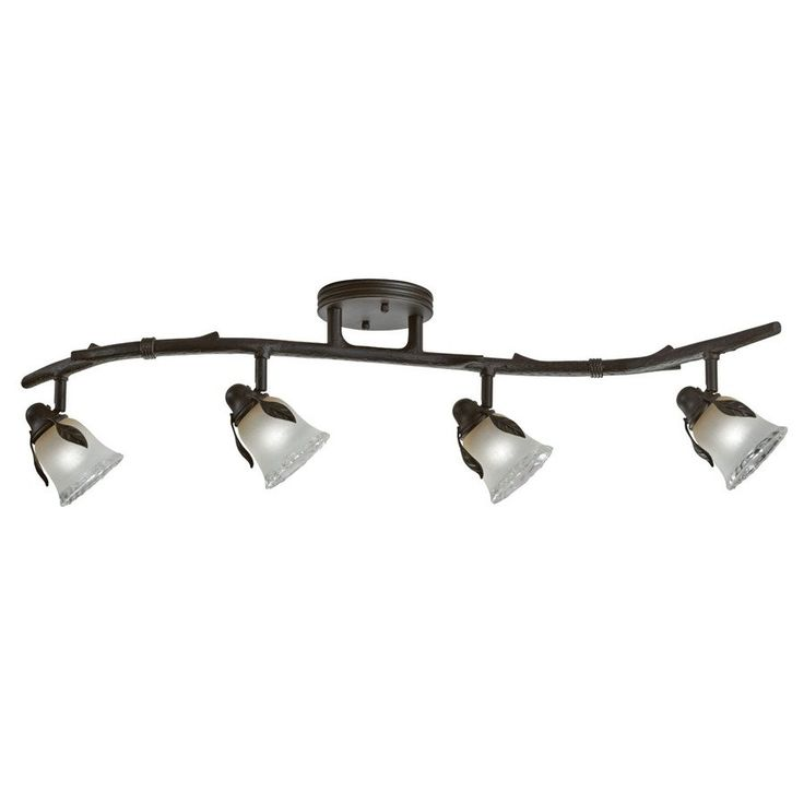 Shop Portfolio Branches Painted Olde Bronze Fixed Track Light Kit at Lowe s  Canada  Find our selection of track lighting kits at the lowest price  guaranteed  Best 25  Rustic track lighting kits ideas only on Pinterest  . Recessed Track Lighting Prices. Home Design Ideas