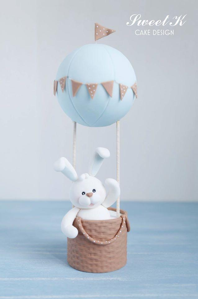 Cute little bunny in a basket by Sweet K! x