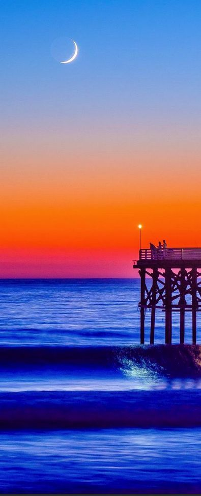 Pacific Beach, San Diego, California, USA