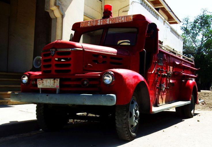 old Isuzu fire truck by Boris Peter on 500px