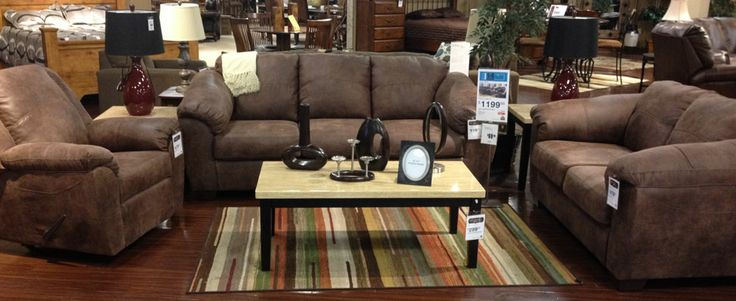 Jathan   Mocha Living Room   This set at Ashley Furniture in Richland  WA. 14 best The Works 14 Piece Packages images on Pinterest   Sofas