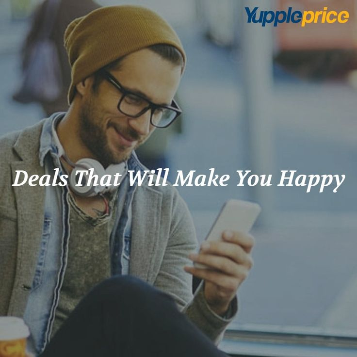 Happiness is getting best deals on #smartphones. We promise you happiness at
