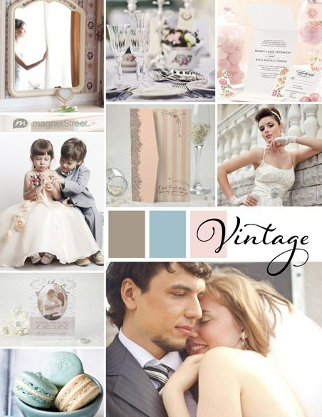 My Wedding Style! | Vintage Wedding Inspiration from MagnetStreet