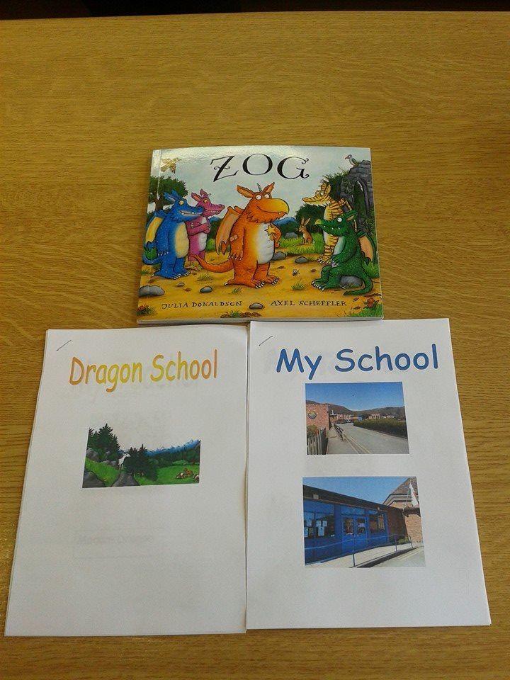 Transition to school. Zog Julia Donaldson