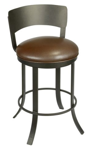 Lovely Low Back Kitchen Counter Stools