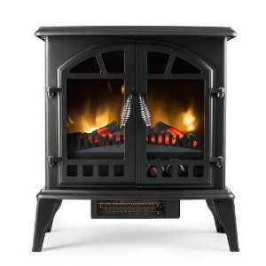 Beautiful Stand Alone Fireplace Electric