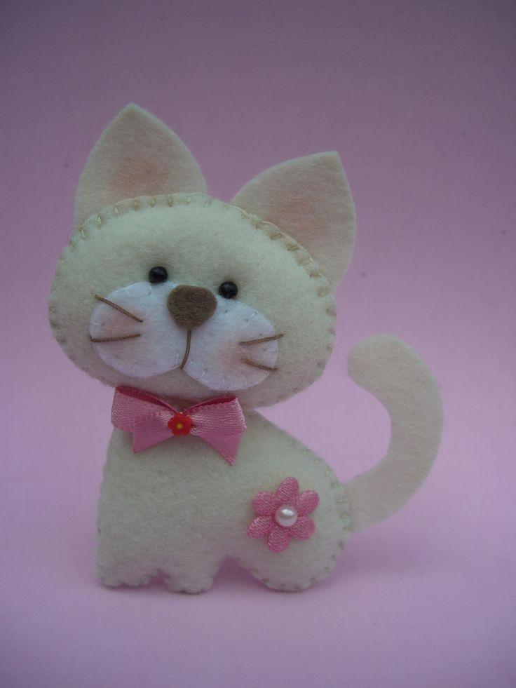 gatinha feita com os moldes de Sonhos de Mel